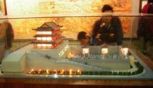 Maquette de la porte Zhonghua