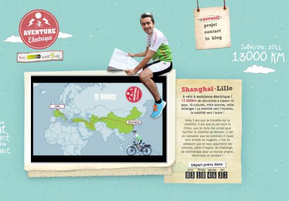Aventure Electrique : Shanghai Lille en vélo