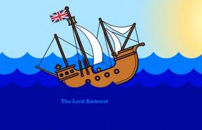 Lord Amherst, 1er navire britannique à Shanghai