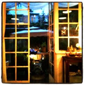 Aroom Café - Porte Vitrée
